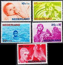 Buy NIEDERLANDE NETHERLANDS [1966] MiNr 0866-70 ( **/mnh )