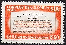 Buy KOLUMBIEN COLOMBIA [1960] MiNr 0940 ( **/mnh )