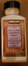 Buy Kirkland Signature Granulated California Garlic 18 oz Fresh Stock