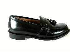 Buy Bostonian Black Leather Tassels Slip On Loafer Dress Shoes Men's 9 M (SM3)