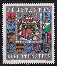 Buy LIECHTENSTEIN [1973] MiNr 0590 ( **/mnh ) Wappen