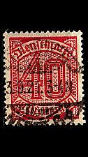 Buy GERMANY REICH Dienst [1920] MiNr 0028 ( O/used )