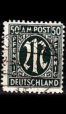 Buy GERMANY Alliiert AmBri [1945] MiNr 0032 b A ( O/used )