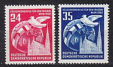 Buy GERMANY DDR [1952] MiNr 0320-21 ( **/mnh )