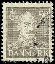 Buy Denmark #286B King Christian X; Used (3Stars) |DEN0286B-04XRS