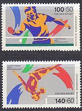 Buy GERMANY BUND [1989] MiNr 1408-09 ( **/mnh ) Sport