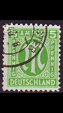 Buy GERMANY Alliiert AmBri [1945] MiNr 0019 B ( O/used )