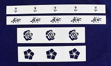 Buy Floral Border 4 Piece Stencil Set-14 Mil -Painting /Crafts/ Templates