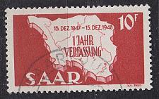 Buy GERMANY Saar [1948] MiNr 0260 I ( O/used )