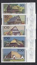 Buy GERMANY BUND [1996] MiNr 1883-87 ( **/mnh ) Bauwerke