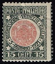 Buy Italy #130 Old Seal of Republic of Trieste; Unused (6.50) (0Stars) |ITA0130-01