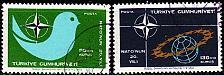Buy TÜRKEI TURKEY [1969] MiNr 2120-21 ( O/used ) NATO