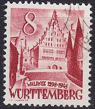Buy GERMANY Alliiert Franz. Zone [Württemberg] MiNr 0032 y I ( O/used ) [02]