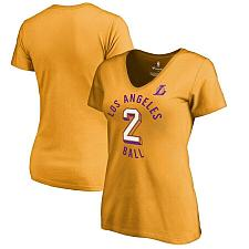 Buy Lonzo Ball Los Angeles Lakers Fanatics Branded Women's Notable Name & Number