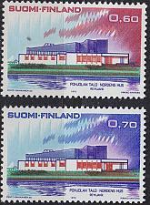 Buy FINLAND SOUMI [1973] MiNr 0724-25 ( **/mnh ) Architektur