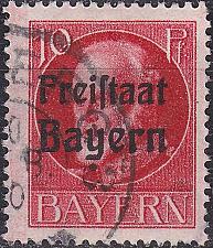 Buy GERMANY Bayern Bavaria [1919] MiNr 0155 A ( O/used )