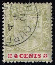 Buy Mauritius #140 Coat of Arms; Used (0.25) (4Stars) |MAU0140-02XRS