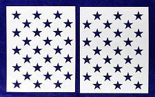 "Buy 50 Star Field Stencil 14 Mil 2 Pc-G-Spec -19.38""H x 27.36"" W - Painting /Crafts/"