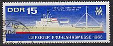 Buy GERMANY DDR [1968] MiNr 1350 ( OO/used ) Schiffe