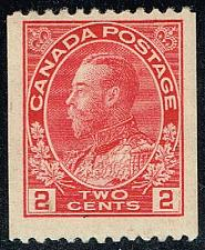 Buy Canada #132 King George V; Unused (3Stars) |CAN0132-01XRP