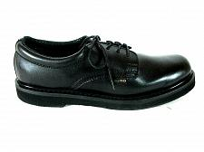 Buy Rhino Black Leather Lace Up Oxford Casual Postman Work Shoes Men's 13 (SM5)