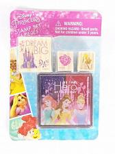 Buy Disney Princess Mounted Rubber Stamp Set With Ink Pad Brand New