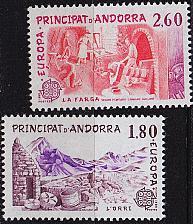 Buy ANDORRA FRANZÖSISCH [1983] MiNr 0334-35 ( **/mnh )