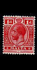 Buy MALTA [1914] MiNr 0043 a ( */mh )