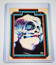 Buy VINTAGE KISS LIVE PETER CRISS 1978 AUCOIN ROCK MUSIC COLLECTORS CARD #59 GD/VG