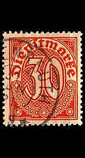 Buy GERMANY REICH Dienst [1920] MiNr 0027 ( O/used )