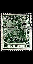 Buy GERMANY REICH Besetzung [EtappeWest] MiNr 0002 a ( O/used )