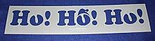 Buy Ho, Ho, Ho Holiday Stencil- Painting /Crafts/ Templates