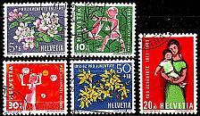 Buy SCHWEIZ SWITZERLAND [1962] MiNr 0758-62 ( O/used ) Pro Juventute
