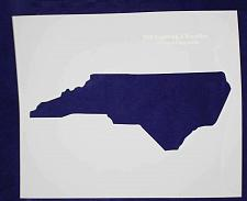 Buy State of North Carolina Stencil 14 Mil Large - Painting /Crafts/ Templates