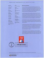 Buy US #SP1632 (4122) Hershey Kiss Love Souvenir Page (4Stars) |USASP1632-01