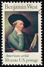 Buy US #1553 Benjamin West; Used (3Stars) |USA1553-02