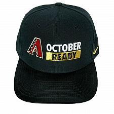 Buy Arizona Diamondbacks MLB Baseball October Ready 2017 Post Season Snapback Hat