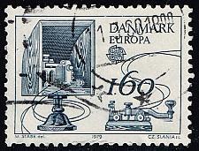 Buy Denmark #652 Morse Key and Amplifier; Used (2Stars) |DEN0652-01XBC