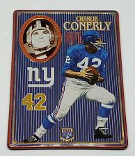Buy NFL 1993 Metallic Images Quarterback Collection Metal Card #3 CHARLIE CONERLY