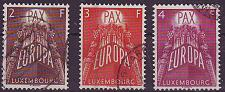 Buy LUXEMBURG LUXEMBOURG [1957] MiNr 0572-74 ( O/used ) CEPT