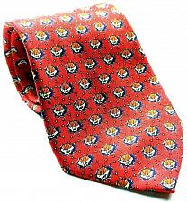 Buy Foundation For Cancer Research Dick Vitale Basketballs Red Silk Necktie