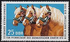 Buy GERMANY DDR [1974] MiNr 1971 ( **/mnh ) Pferde
