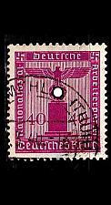 Buy GERMANY REICH Dienst [1938] MiNr 0154 ( O/used )