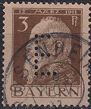 Buy GERMANY Bayern Bavaria [Dienst] MiNr 0006 ( O/used )