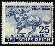 Buy Germany #B204 Horse Racing; Unused (3Stars)  DEUB0204-01XRP