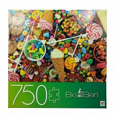 Buy Big Ben MB 750 Piece Puzzle Sweets And Treats Candy Cookies Complete