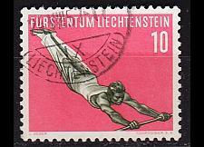 Buy LIECHTENSTEIN [1957] MiNr 0353 ( O/used ) Sport