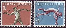 Buy LIECHTENSTEIN [1956] MiNr 0342 ex ( O/used ) [01] Sport