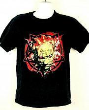 Buy Vintage 90s Slayer Men's T-Shirt Medium Graphic Short Sleeve Black