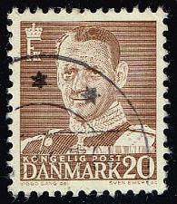 Buy Denmark #320 King Frederik IX; Used (0.25) (3Stars) |DEN0320-06